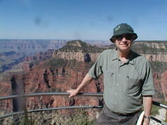 My son, Duncan Foley, from the North Rim