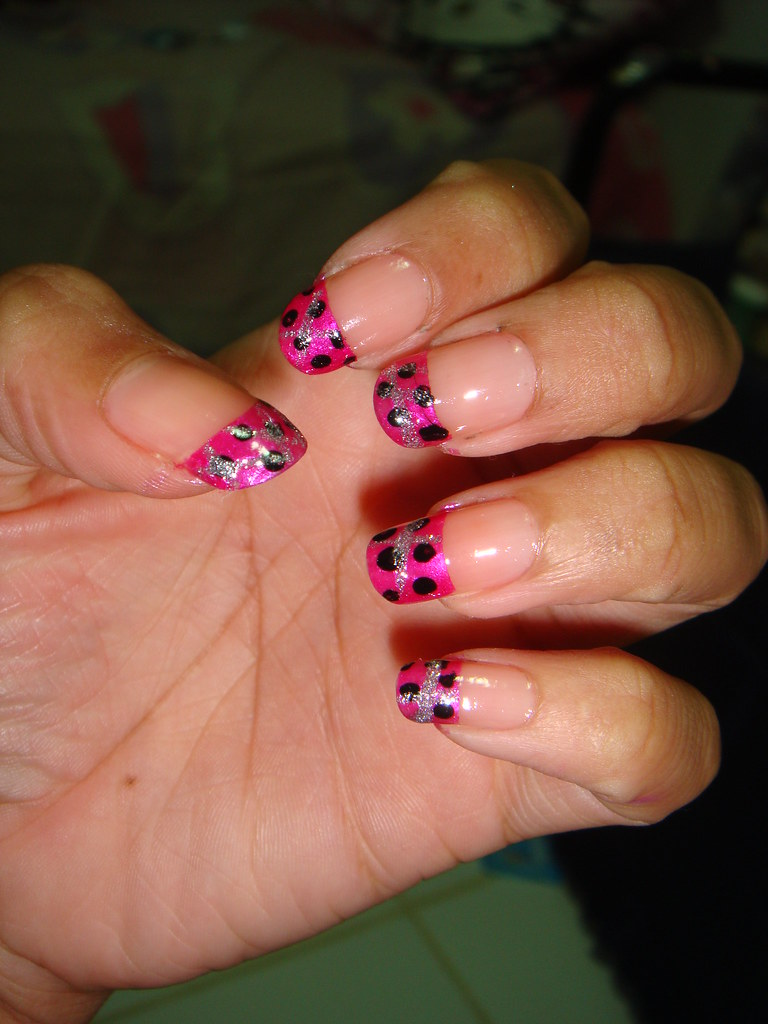 female nail art