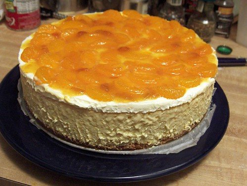 Mandarin Orange Cheesecake (recipe)