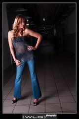 Jessica F Model Shoot 1 (Wilson Lam {WLQ}) Tags: hello light model industrial shining yah helloworld sigma1850mm strobist nikond90 jessicafarwell bluejeansarecool