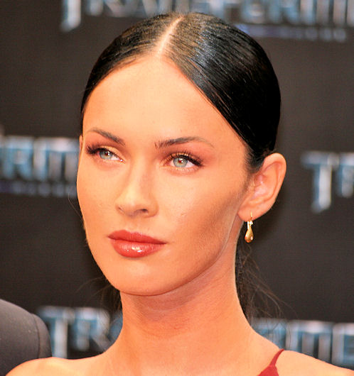 Transformers 2 Berlin Megan Fox rostro