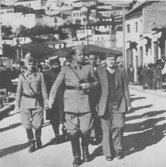 Enver Hoxha n kshillin antifashist nacional lirimtar t Beratit, tetor 1944. Conseil de libration nationale, Berat, Albanie, octobre 1944. Albanian council of National Liberation, Berat, Albania, October 1944. (Only Tradition) Tags: