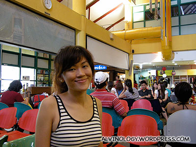 Waiting for our ferry at the Bintan Resorts ferry terminal
