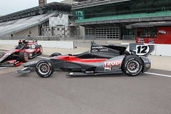 A side view of the 2012 oval track design (IZOD IndyCar Series) Tags: car speed design technology racing concept chassis 2012 indycar dallara