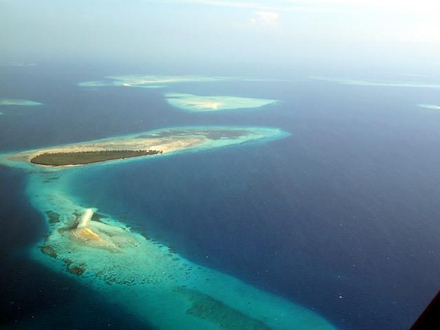 View from the plane - Zanzibar - Unguja island - Tanzania, Africa