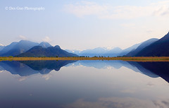 Reflection, Pitt Meadows BC (PhotoDG) Tags: pittmeadows bc reflection landscape vancouver nature water mountain metrovancouver canoneos5dmarkii ef1635mm grantnarrowsregionalpark grantnarrows marsh pittaddingtonmarsh pittaddington