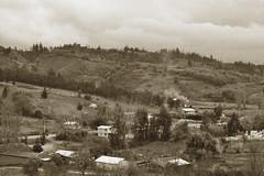 (Doris Venegas) Tags: monocromo paisaje campo anciana vino rostros ruido monocolor duotono casaantigua rutadelvino g