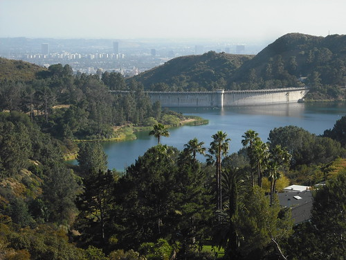 Dam near the Hollywood sign