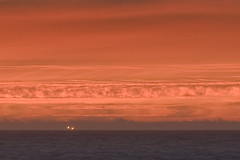 Fishing, and Distant Fluid Dynamics (AGrinberg) Tags: ocean sunset sky boat fishing niceshot dynamic pacific fluid explore pacifica 900mm ypoq dyamics 2224sunsetzooma