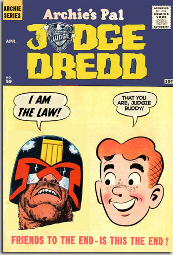 Archie's Pal Judge Dredd