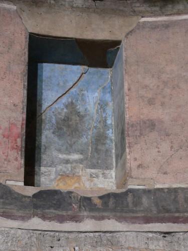 """Painted niche in the """"Auditorium of Maecenas"""""""