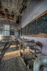 Inside School (dpinkston (Derek)) Tags: old school canon rebel kansas hdr elmdale xti aplusphoto