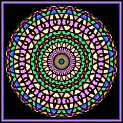 Pastel Mandala (Lyle58) Tags: abstract geometric circle design pattern kaleidoscope mandala symmetry zen harmony reflective symmetrical balance circular kscope kaleidoscopic kaleidoscopes kaleidoscopefun kaleidoscopeonly