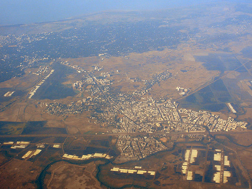 Mumbai Outskirts from Above