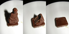 BUDDHA SNACK (myheartsiiings) Tags: new york travel food 3 chocolate buddha trilogias