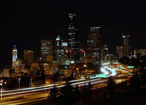 *Edited Version: I couldn't pass up another Photo Opportunity at the Jose P. Rizal Bridge Seattle, WA.