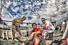 F.r.i.e.n.d.s (A.alFoudry) Tags: friends sky clouds canon dark island eos boat flash full fisheye frame 5d kuwait fullframe 15mm f28 ef hdr ammar kuwaiti q8 saleh abdullah عبدالله failaka canoneos5d صالح kuw الغيث عمار q80 canonef15mmf28fisheye alothman xnuzha alfoudry الفودري بوصلوح abdullahalfoudry foudryphotocom العثمان kvwc kuwaitvoluntaryworkcenter alghaith بوصلوحقاعداشوفالصورهواتذكرالأيامالخوالي
