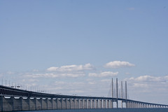 Öresundsbron (Håkan Dahlström) Tags: bridge sea water skåne agua eau wasser sweden schweden malmoe sverige acqua malmö vatten malmo malm oresund öresund öresundsbron svezia oeresund
