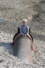 Lauryn my niece on Hessle Foreshore (Pocketrocket1) Tags: stones pebbles foreshore hessle