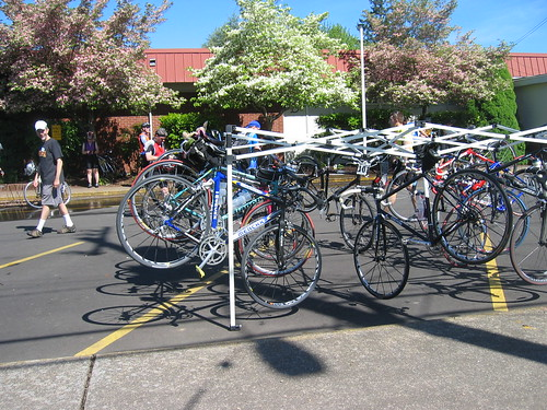 Bike Rack in Dayton
