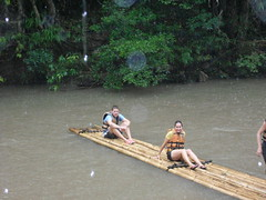 Bamboo River Rafting (Krystal & Erik) Tags: trek thailand hike mai jungle chiang
