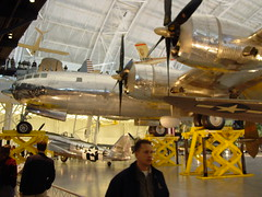 """Boeing B-29 Superfortress - """"Enola Gay"""" (rob-the-org) Tags: aircraft hiroshima ww2 boeing 500 bomber littleboy 1000 250 worldwar2 enolagay b29 superfortress nasm nationalairspacemuseum udvarhazycenter dullesva uhc colpaultibbets topjuly topaugust2010"""