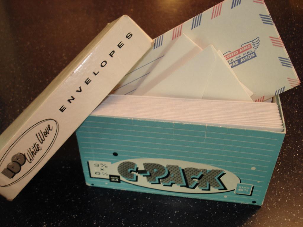 odd envelopes