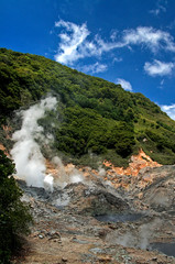 La Soufriere Drive-In Volcano (Philip Effraim) Tags: blue nature clouds landscape volcano carribean steam soufrire westindies saintlucia blendedexposures intensecolour tamron1750mmf28
