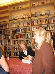 Caroline Kennedy signs books. (10/17/2005)