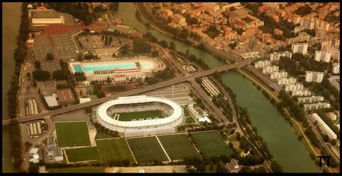 Toulouse Stadium par Franck Tourneret