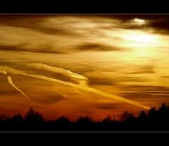 Golden sky (Kirsten M Lentoft) Tags: sunset denmark bravo bec soe amager themoulinrouge firstquality fpg momse2600 visiongroup goldenphotographer diamondclassphotographer flickrdiamond thatsclassy life~asiseeit mmuahhh magicdonkeysbest oraclex goodnightdearestsleeptight kirstenmlentoft magicunicornverybest