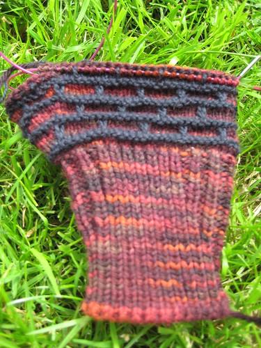 Firebrick mittens