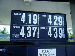 gas prices hurt