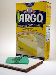 Using Corn Starch to Prevent Air Bubbles