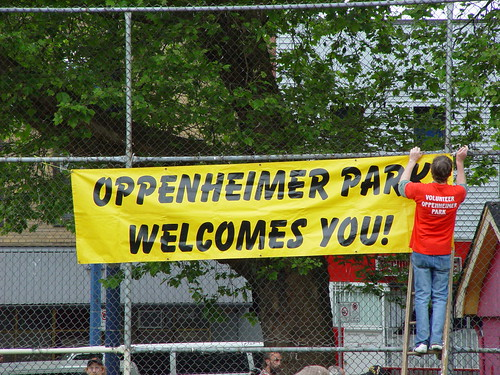 Oppenheimer Park Welcomes You!