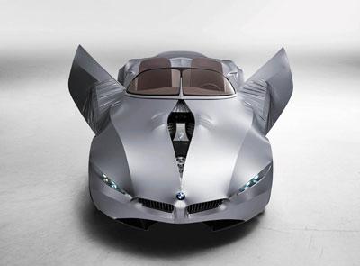 Capo do carro GINA da BMW abre como se tivesse zíper