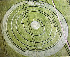 Crop Circle 2008 (janet7r) Tags: barley fractal wiltshire cropcircle barburycastle