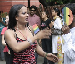 another eunuch (ramesh_lalwani) Tags: india delhi parade lgbt queer