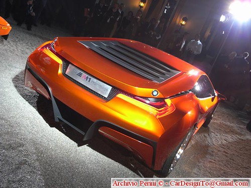 Bmw M1 Homage. what the BMW M1 Hommage