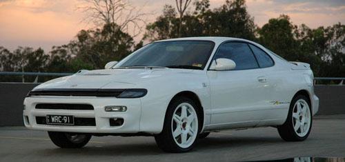 Foto de un Toyota Celica ST185 (1990)