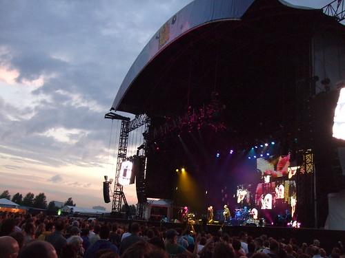 R.E.M. live in Westerpark, Amsterdam
