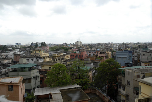view on Kolkata, India