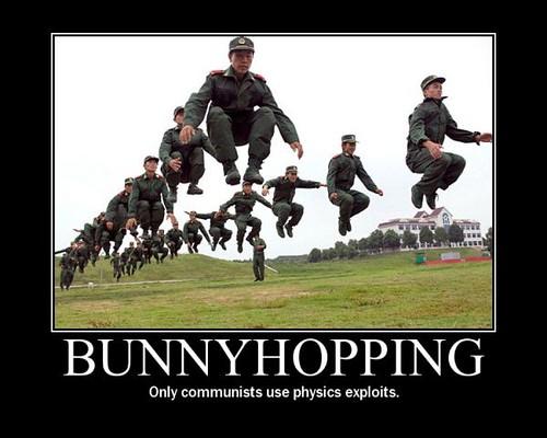 bunnyhopping