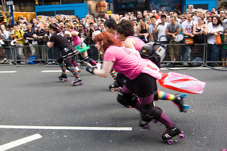 The roller-girls are off!