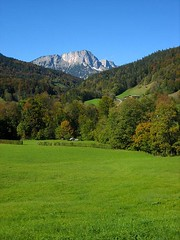 Pasture land near Untersberg