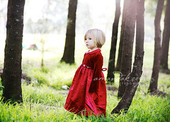 Little in Red too ({amanda}) Tags: red cute girl 50mm child naturallight 3years nmk amandakeeysphotography outsitde