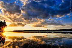 Last rays (Rob Orthen) Tags: sunset sky cloud sun lake reflection clouds suomi finland reeds landscape nikon europe sundown rob rays scandinavia hdr maisema vesi sysm kes raysoflight raysofthesun d300 jrvi auringonlasku heijastus salajrvi 175528 orthen lakefinland roborthenphotography