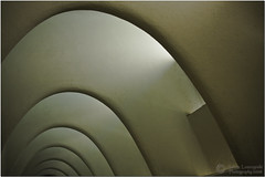 Gaudis Arches  Inside of Casa Batllo (janusz l) Tags: barcelona geotagged casa arches artnouveau gaudi expressionism batllo 2022 masterphotographer janusz leszczynski abigfave geo:lon=2164977 geo:lat=41391685