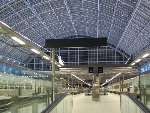 Eurostar's St Pancras International - Platform