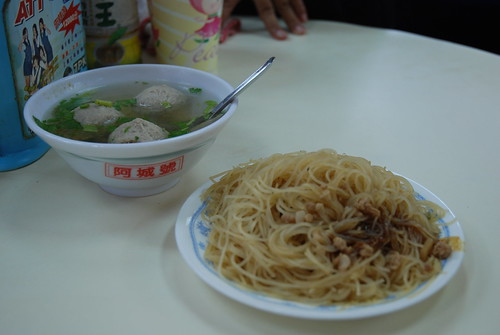 新竹米粉和貢丸